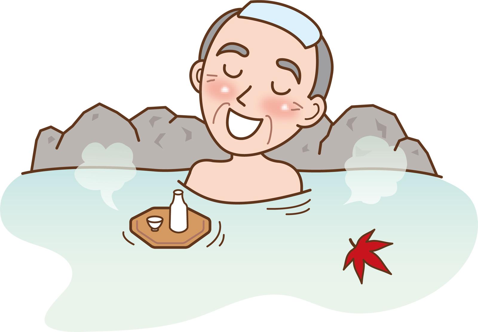 痛風にお風呂やサウナは良い悪い?