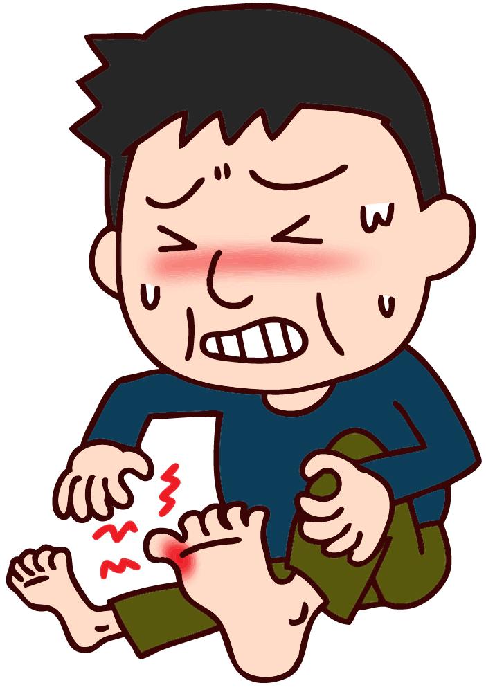 私の痛風結節体験談