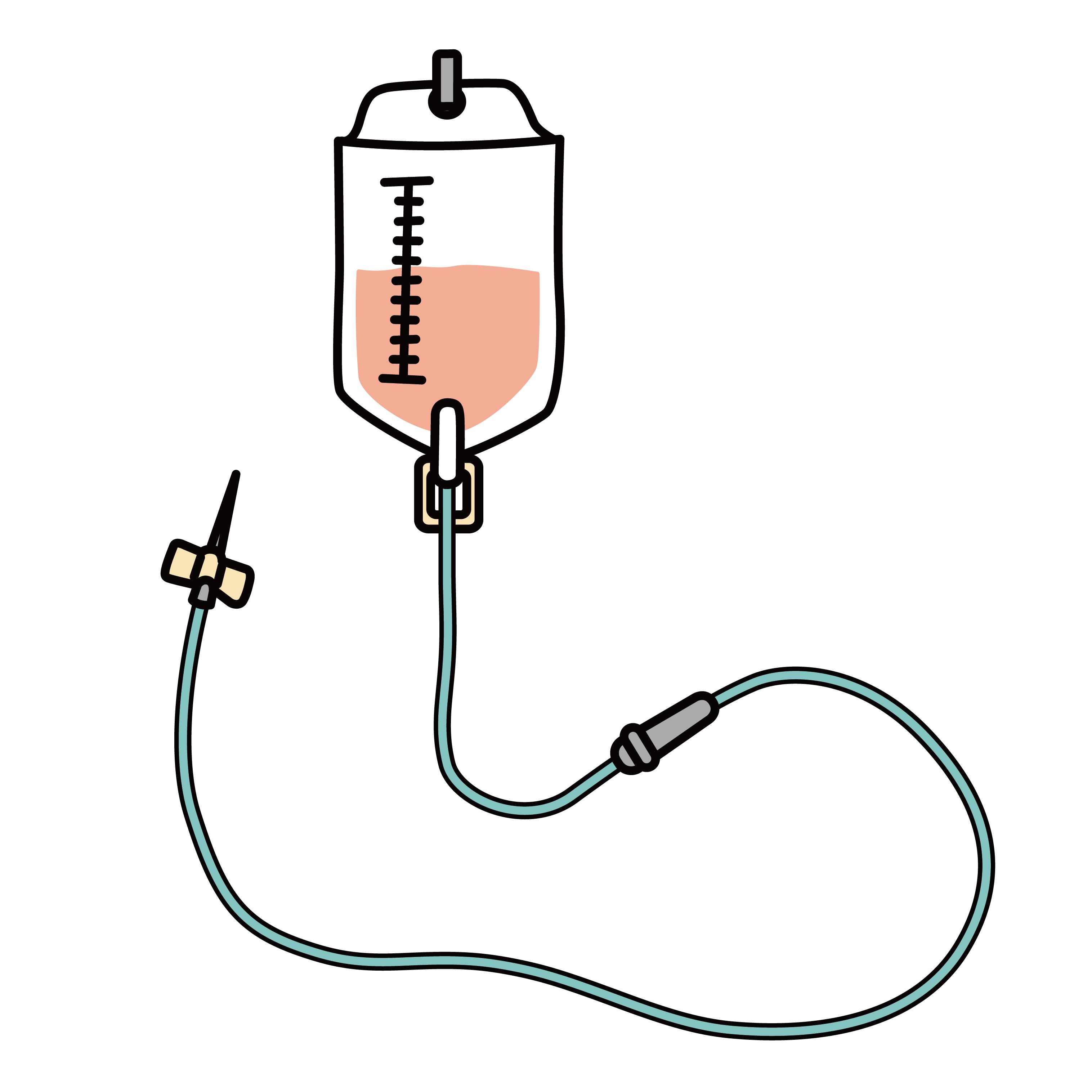 痛風発作で足を引きずり病院に駆け込み、点滴で処置