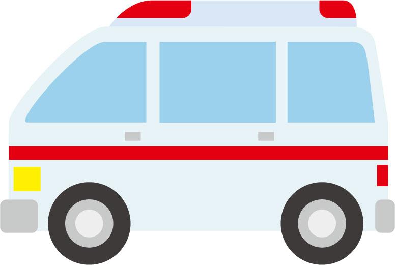 痛風発作の強い痛みが夜中に出て、救急車で病院に運ばれました