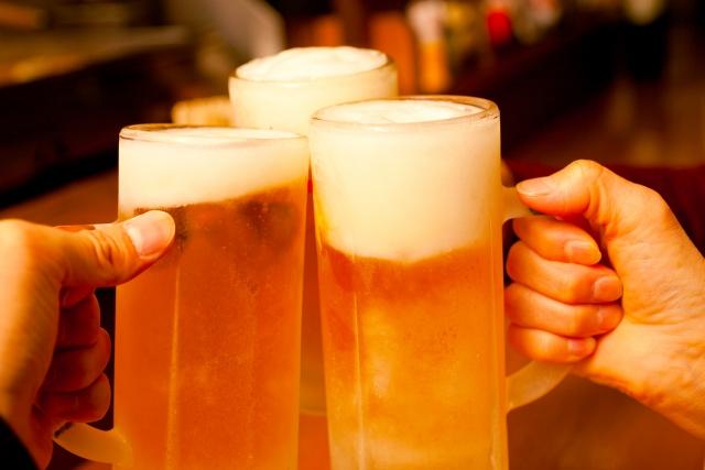 お酒のプリン体を比べてみた。ビール、日本酒、焼酎、ワインなど